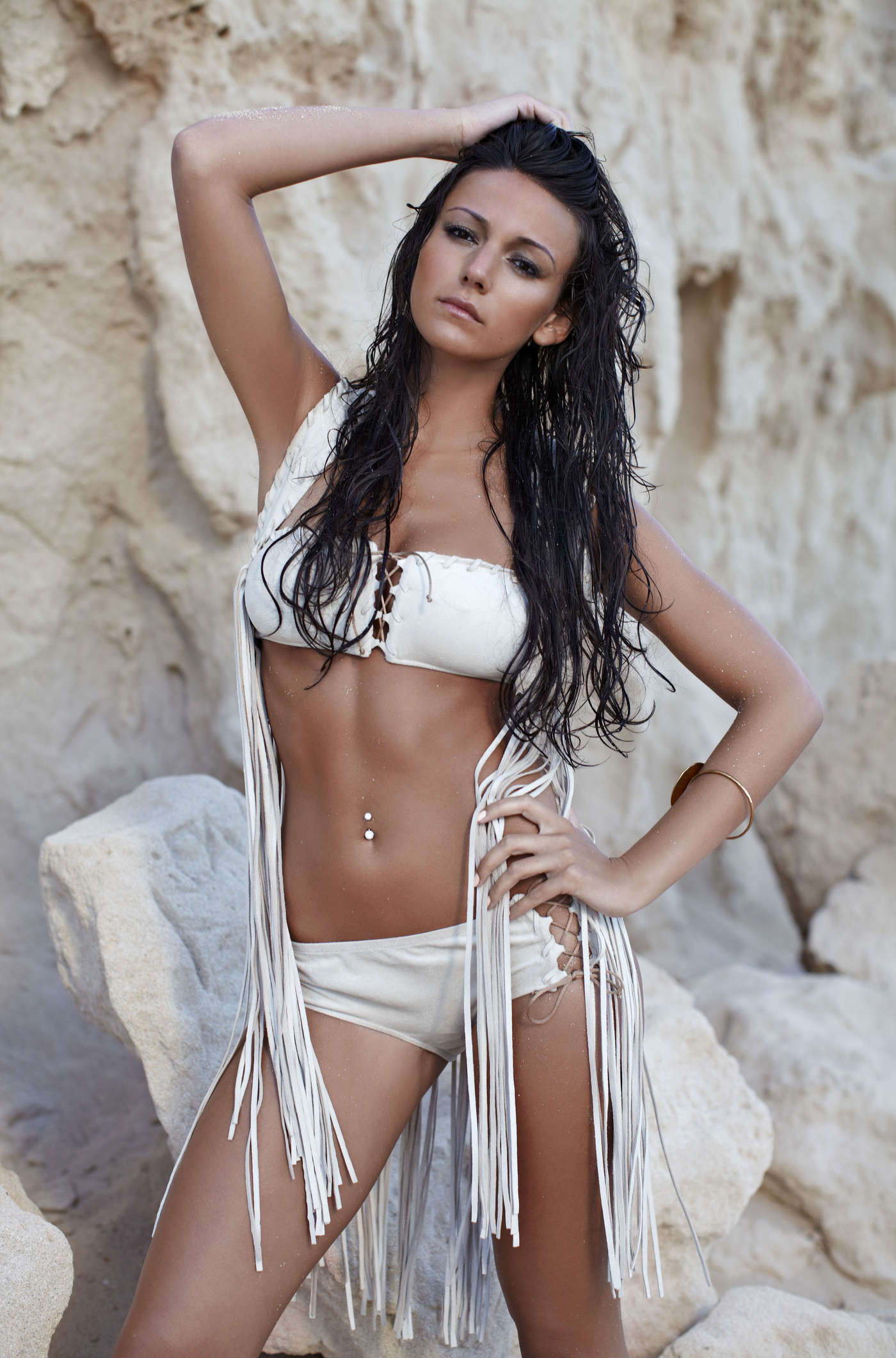 Michelle Keegan - Mark Hayman bikini photoshoot 2012-02