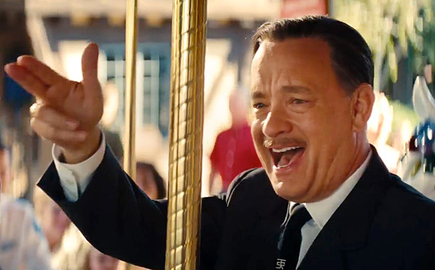 SAVING MR. BANKS - TRAILER NO. 1 -- Pictured: Tom Hanks(Screengrab)