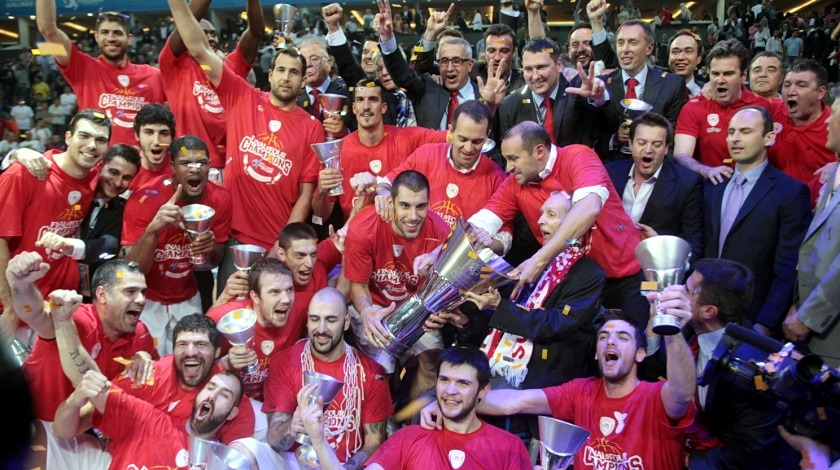 Olympiacos Euroleague Champion 2011-2012