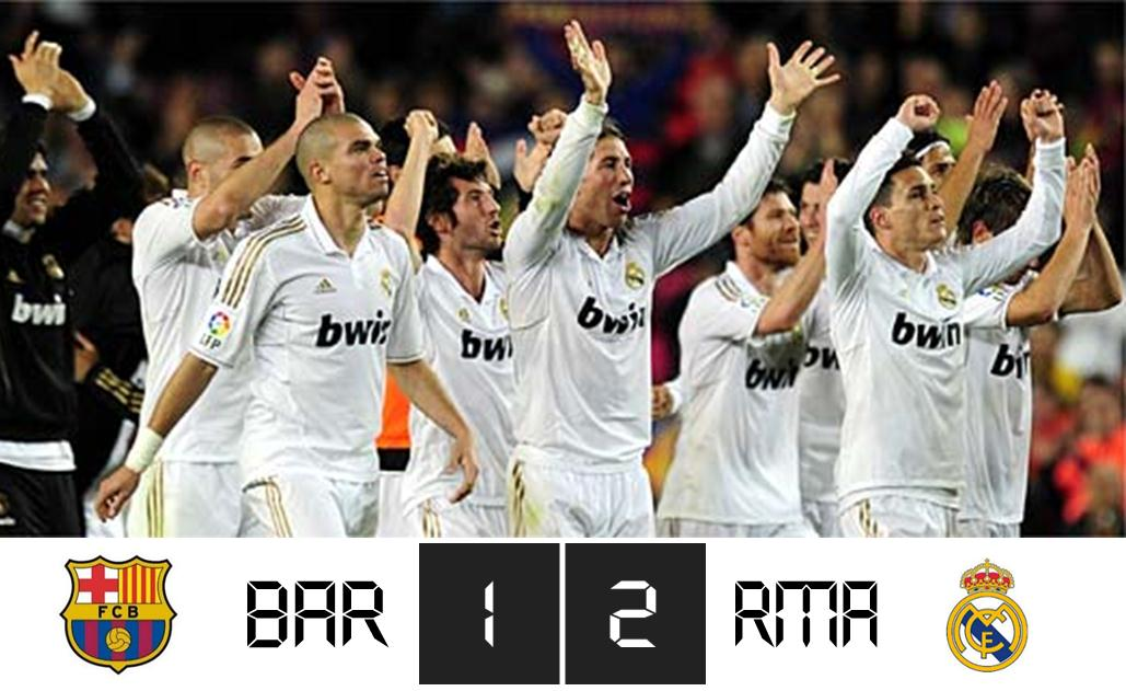 barcelona 2 2 real madrid