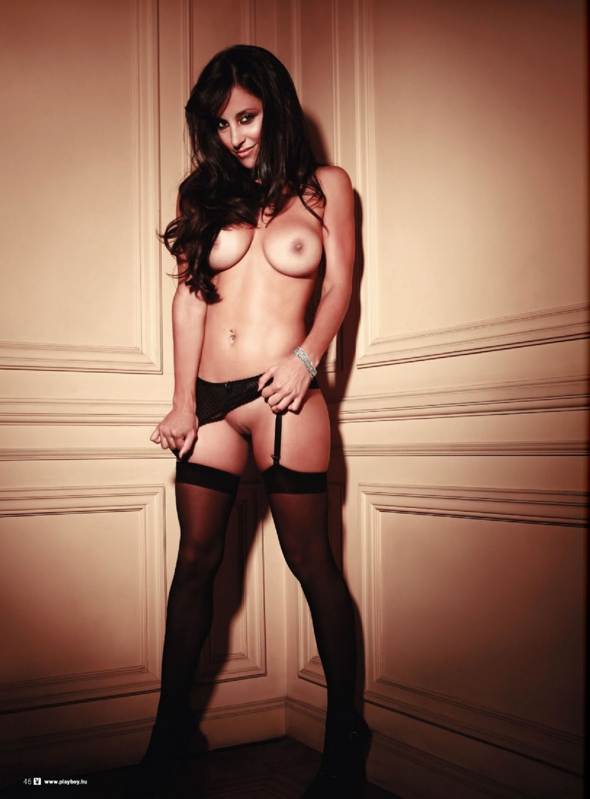 Lourdes Sanchez Playboy Hungary [June 2013] (3)