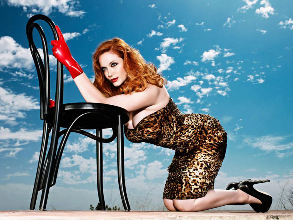 Christina Hendricks Hot photo shoot-02