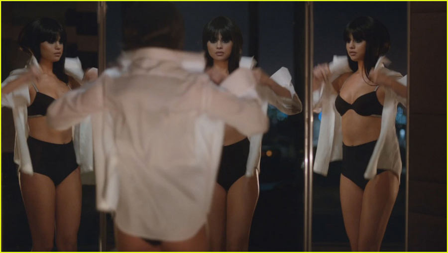 selena-gomez-strips-down-to-underwear-in-hands-to-myself-video-teaser-04