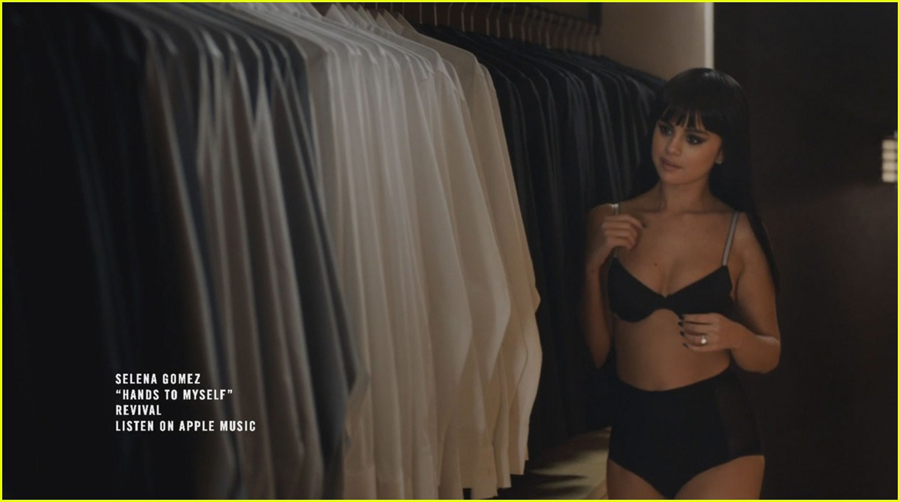 selena-gomez-strips-down-to-underwear-in-hands-to-myself-video-teaser-05