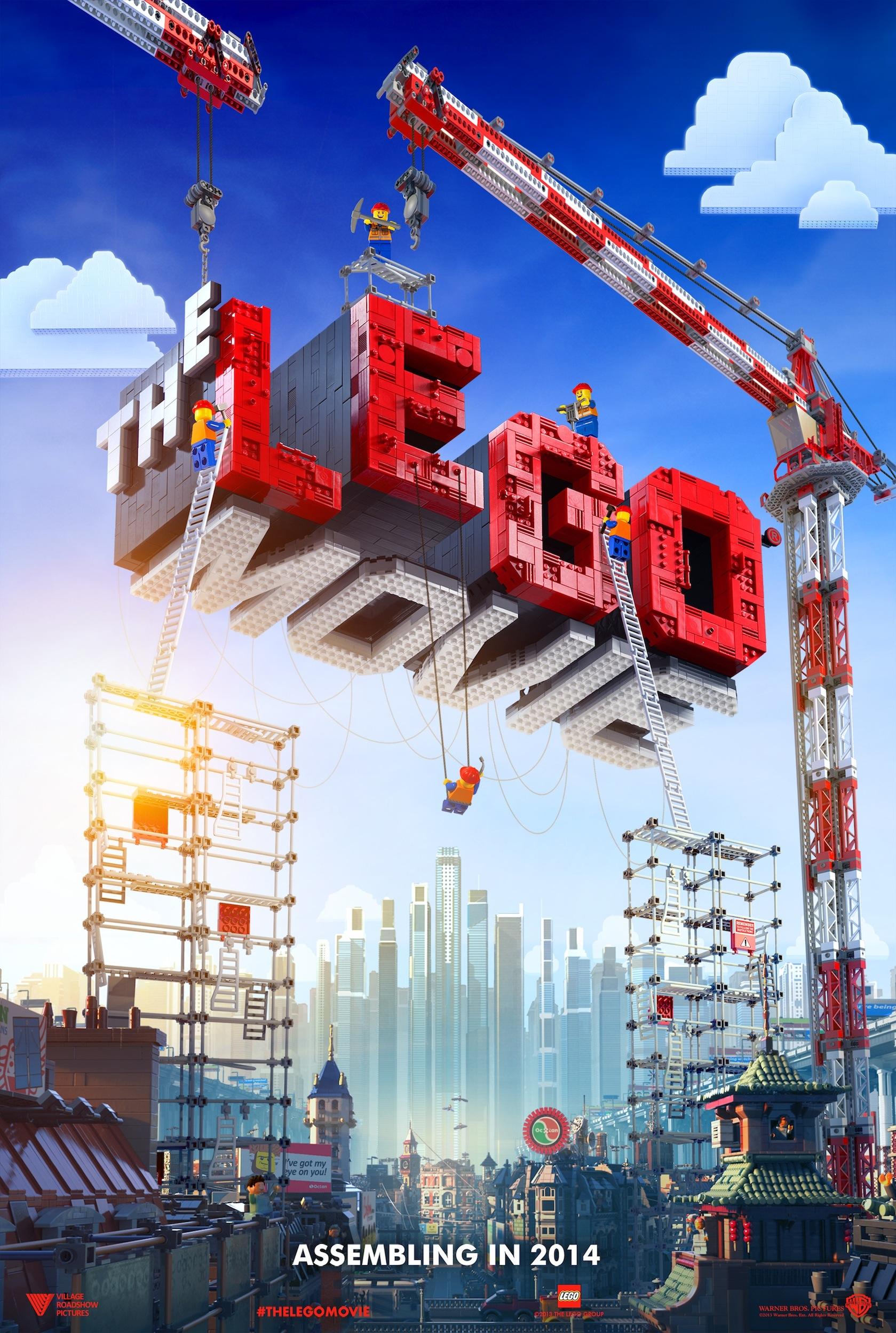 THE LEGO MOVIE teaser image