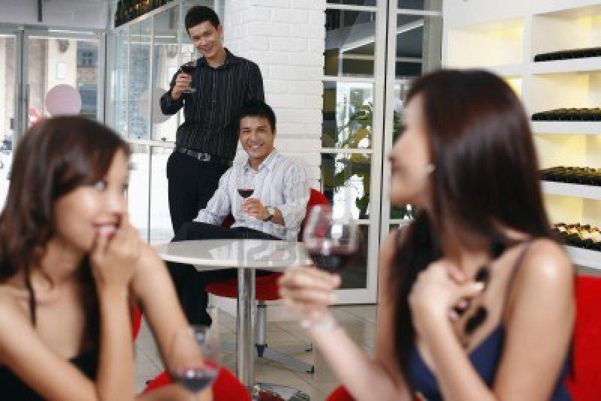 Men Flirting With Women