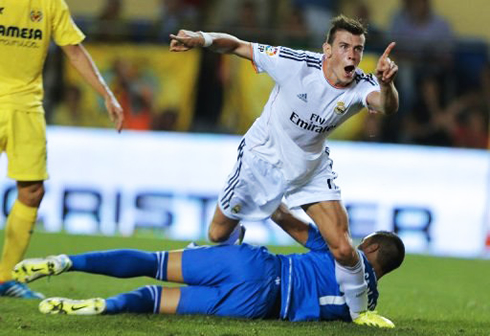 Gareth Bale First Goal