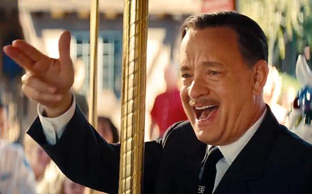 SAVING MR. BANKS - TRAILER NO. 1 -- Pictured: Tom Hanks(Screengrab)