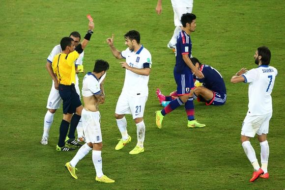 Japan v Greece: Group C - 2014 FIFA World Cup Brazil