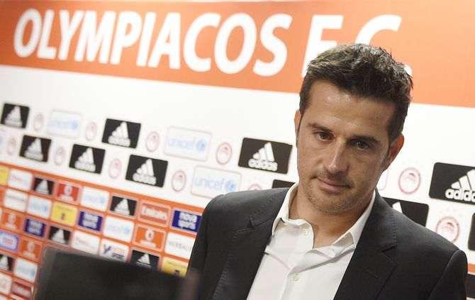 FUTEBOL - Apresentacao de Marco Silva  como treinador do olimpiacos na sede do Olimpiakos em Atenas Grecia. Quarta 8  de julho de 2015. (ASF/ANDRE ALVES) ATENAS