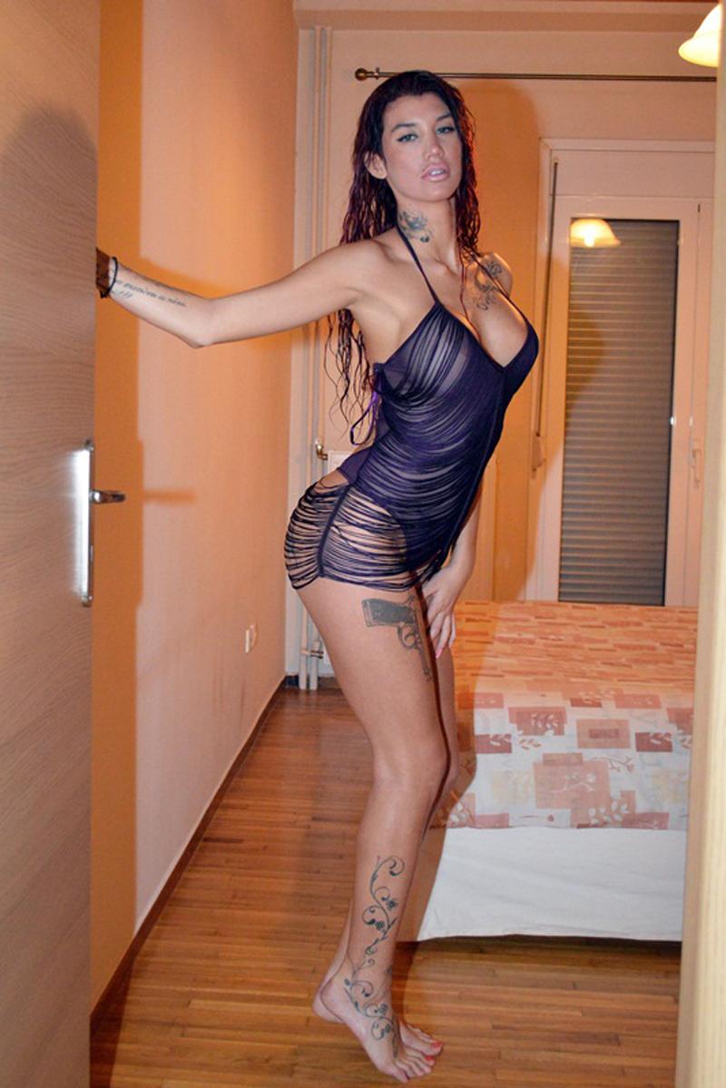 Maria-Alexandrou-Sexy-Lingerie-Photoshoot-Kanoni-2