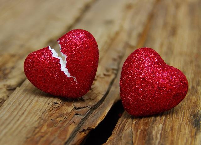 bigstock love concept Broken heart che 167457764